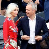 François de Rugy et son épouse Séverine Servat à Roland-Garros pour Nadal