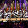"""Exclusif - Les Zurcaroh, une troupe d'acrobates autrichiens - Enregistrement de l'émission """"Les 20 ans du Plus Grand Cabaret du Monde"""" dans la Salle des Etoiles à Monaco, qui sera diffusée le 16 juin sur France 2, dont le parrain est A.Delon. Le 1 juin 2018. © A.Bahi-B.Bebert / Bestimage"""