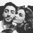 Camille Lou et son amoureux Gabriele Beddoni - Photo publiée sur Instagram à l'été 2016