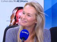 """Estelle Lefébure et son ex-mari David Hallyday : """"J'ai toujours un lien fort"""""""