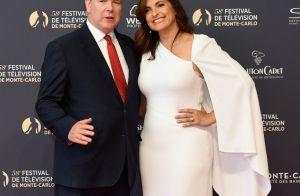 Albert de Monaco accueille la divine Mariska Hargitay au Festival de Monte-Carlo