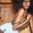 Tina Kunakey en couverture du magazine Lui, juin 2018.