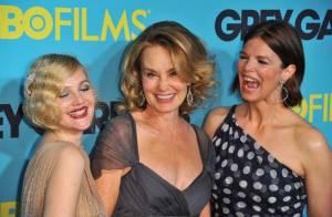 Drew Barrymore, Jessica Lange et Jeanne Tripplehorn : un trio complice et ravissant à New York !