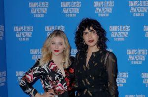 Chloë Moretz : Pétillante au Champs Élysées Film Festival