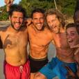 Stomy Bugsy, Olivier Dion, Gwendal Peizerat, Priscilla Betti et Émilie Gomis - Instagram