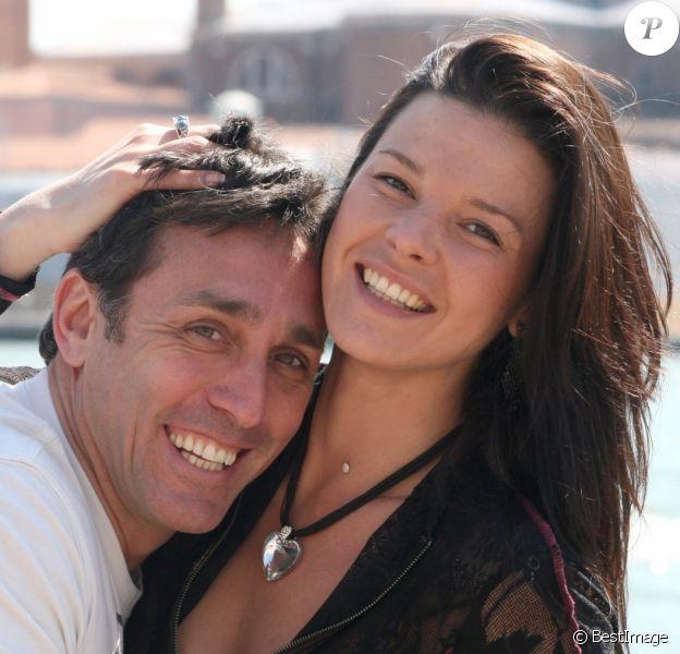 EXCLU - Daniel Ducruet et Kelly Marie Lancien à Venise, le 15 septembre 2010.