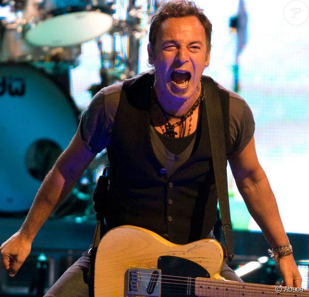 Le rugissement de Bruce Springsteen sur scène à Houston, le 8 avril 2009