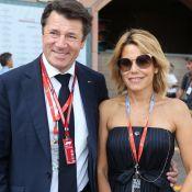 Laura Tenoudji en jolie robe blanche pour retrouver Christian Estrosi à Nice