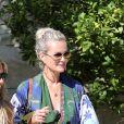 Semi-exclusif - Laeticia Hallyday et son amie Christina vont rejoindre des amies dans une villa avant d'aller dejeuner à Beverly Hills le 20 juin 2018.20/06/2018 - Beverly Hills