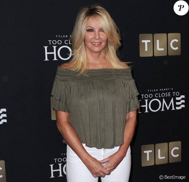 Heather Locklear à la première de la série 'Too Close To Home'' à Beverly Hills, le 16 août 2016 © Dave Longendyke/Globe Photos via Zuma/Bestimage