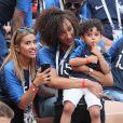 Famille N'Zonzi - Célébrités dans les tribunes lors du match de coupe du monde opposant la France au Danemark au stade Loujniki à Moscou, Russia, le 26 juin 2018. Le match s'est terminé par un match nul 0-0. © Cyril Moreau/Bestimage
