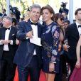 """Patrick Chêne et sa femme Laurence - Montée des marches du film """"Mal de pierres"""" lors du 69ème Festival International du Film de Cannes. Le 15 mai 2016. © Borde-Jacovides-Moreau/Bestimage"""