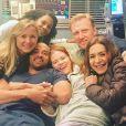 "Sarah Drew et l'équipe de ""Grey's Anatomy - Instagram, mai 2018"