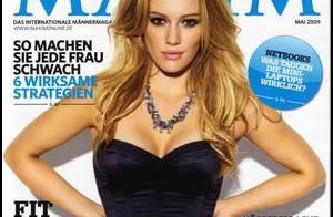 Quand Hilary Duff, 21 ans, joue la femme fatale... C'est magnifique !