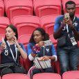 La famille de Thomas Lemar lors de France-Argentine en 8e de finale de la Coupe du monde à Kazan en Russie le 30 juin 2018 © Cyril Moreau/Bestimage