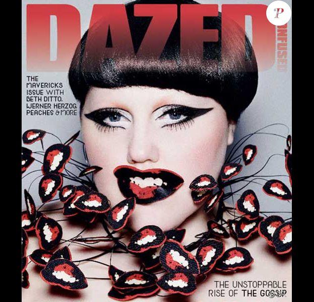 Beth Ditto en couverture de Dazed & Confused