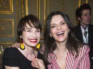 Fashion Week : Juliette Binoche, Mélanie Thierry... tout sourire chez Armani !