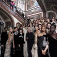 Giorgio Armani - Défilé Giorgio Armani Privé, collection Haute Couture automne-hiver 2018/19 à Paris, le 3 juillet 2018.