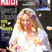 Vanessa Paradis mariée : Escortée à la mairie par deux des hommes de sa vie