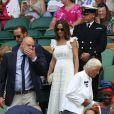 Pippa Middleton et son frère James ont assisté au tournoi de tennis de Wimbledon, à Londres, le 5 juillet 2018