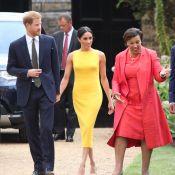 Meghan de Sussex : Éclatante et tactile avec Harry à Marlborough House