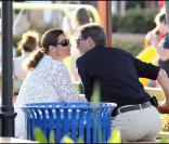 Pierce Brosnan et sa femme Keely Shaye Smith