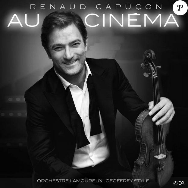 """Renaud Capuçon """"Au Cinéma"""" à l'Olympia le 14 octobre 2018."""