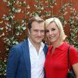 Renaud Capuçon et sa femme Laurence Ferrari au village des internationaux de tennis de Roland-Garros à Paris le 4 juin 2017. © Dominique Jacovides-Cyril Moreau/Bestimage