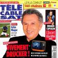 """""""Télé Câble Sat"""" en kiosques le 9 juillet 2018."""