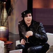 """Marilyn Manson : il révèle la pochette de son nouvel album ! Et c'est très... """"dark"""" !"""