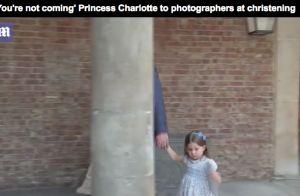 Charlotte de Cambridge: À 3 ans, elle casse les photographes au baptême de Louis