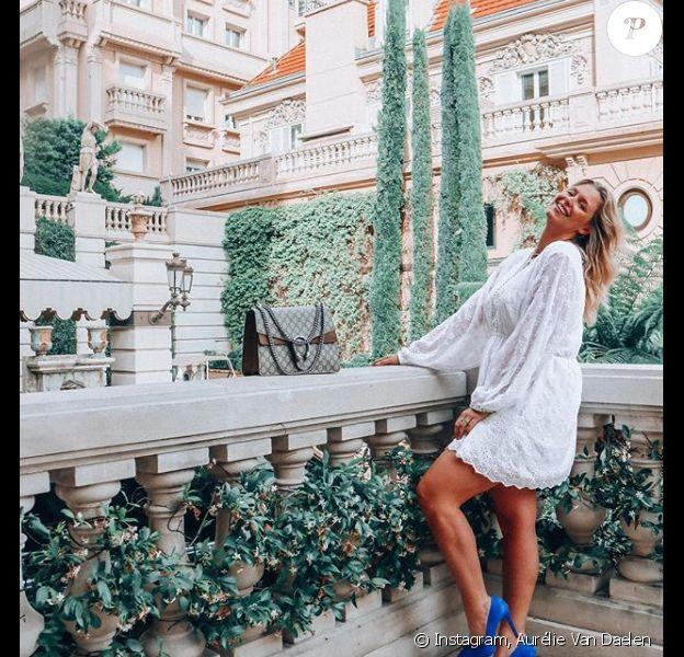 Aurélie Van Daelen à Monaco - 8 juillet 2018, Instagram
