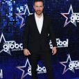 "David Guetta au photocall des ""Global Awards 2018"" à Londres, le 1er mars 2018."