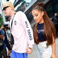 Ariana Grande et Pete Davidson, fiancés en juin 2018 au bout d'un mois de relation.