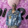 Le basketteur Russell Westbrook, héros d'Eric Judor, au défilé de mode Dior Homme collection printemps-été 2019 à la Garde Républicaine lors de la fashion week à Paris, le 23 juin 2018. © Olivier Borde/Bestimage