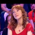 """Véronique et Florent Peyre lors du """"Combat des Maîtres"""" sur prime-time sur TF1."""