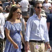 "Pippa Middleton, enceinte : Cool avec son bump et son mari à un festival ""speed"""