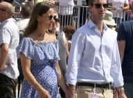 "Pippa Middleton, enceinte : Cool avec son bump et son mari à un festival ""speed"""