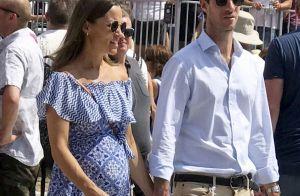 Pippa Middleton, enceinte : Cool avec son bump et son mari à un festival