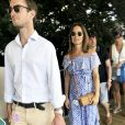 Pippa Middleton, enceinte, et son mari James Matthews au Festival of Speed de Goodwood le 14 juillet 2018, à Chichester dans le West Sussex.