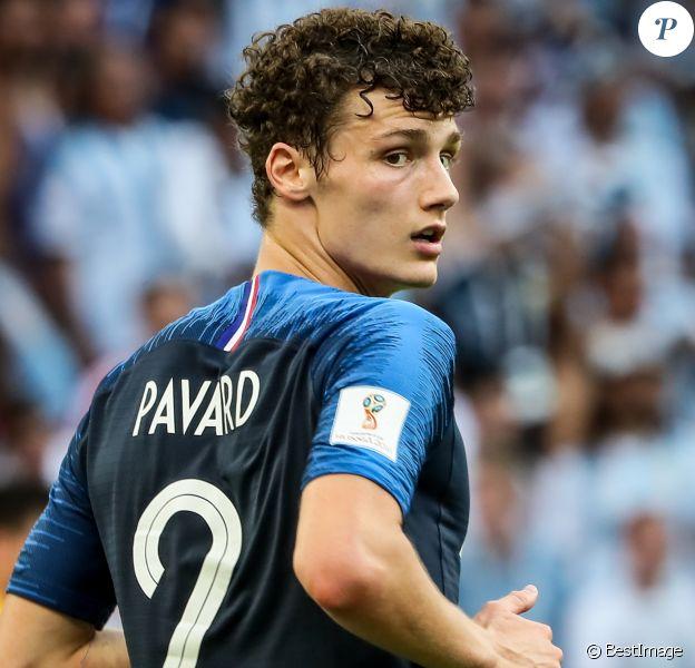 Benjamin Pavard - Match de football entre la France et l'Argentine lors des 8ème de finale de la Coupe du monde à Kazan en Russie le 30 juin 2018 © Cyril Moreau/Bestimage