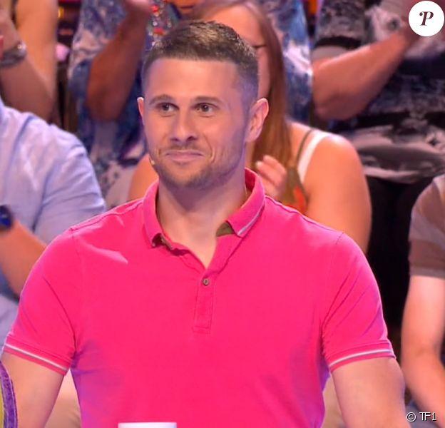 """Antoine, candidat qui a battu Véronique - """"Les 12 Coups de midi"""", 21 juillet 2018, TF1"""