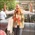 Ayo et son sourire contagieux étaient hier à Paris avant que la chanteuse n'aille se produire aujourd'hui au Printemps de Bourges
