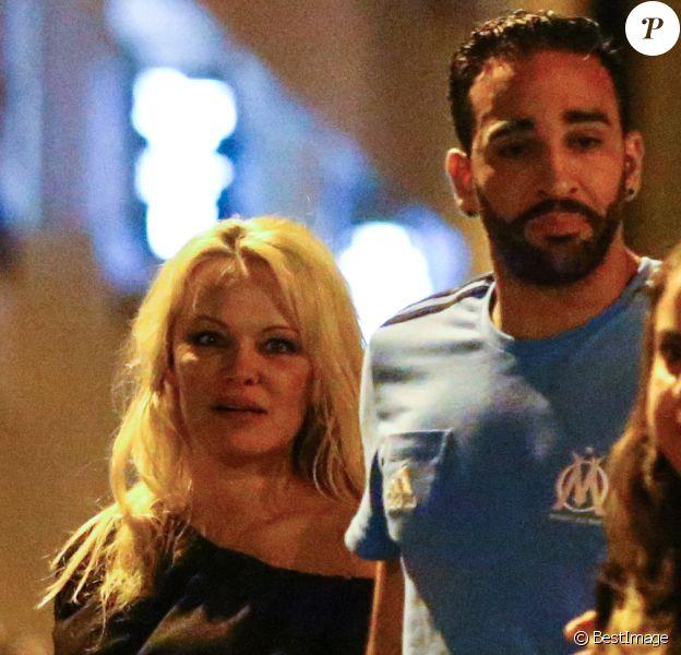PHOTO. Adil Rami adresse un tendre message d'amour à Pamela Anderson