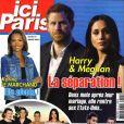 """Couverture du journal """"Ici Paris"""" du mercredi 25 juillet 2018"""