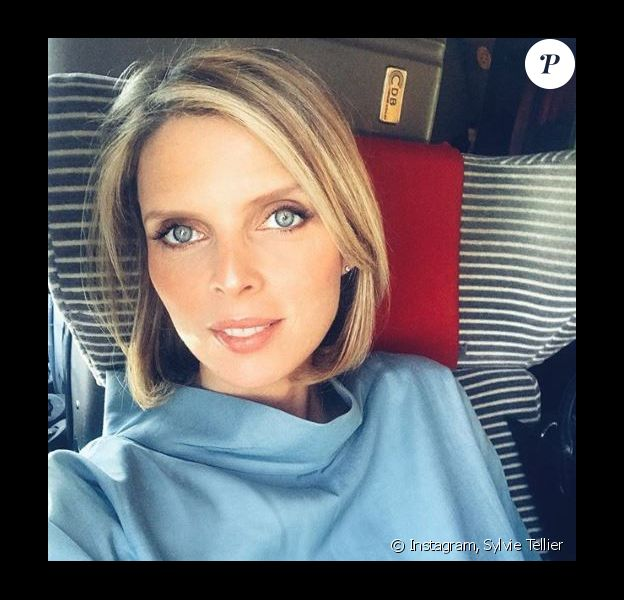 Sylvie Tellier en déplacement - Instagram, 18 avril 2018