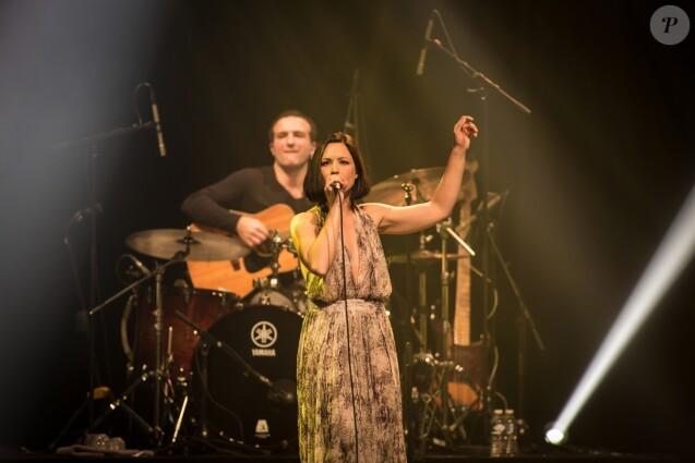 Exclusif - Concert de Natasha St-Pier au casino Barrière de Lille le 16 décembre 2016.