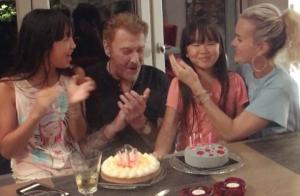 Joy Hallyday fête ses 10 ans : Ses plus belles photos avec Johnny et Laeticia