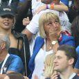 Isabelle Griezmann (mère d'Antoine Griezmann) - People au stade Loujniki lors de la finale de la Coupe du Monde de Football 2018 à Moscou, opposant la France à la Croatie à Moscou le 15 juillet 2018 © Cyril Moreau/Bestimage