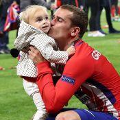 Antoine Griezmann : Sa danse de la joie avec sa petite Mia